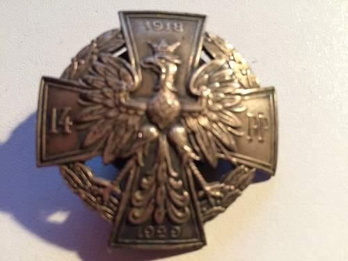 Unknown Regiment Badge can anyone enlighten me?