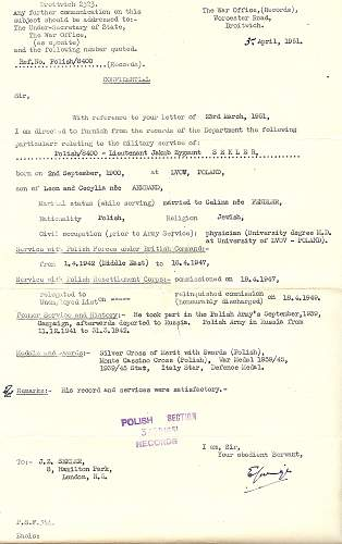 Click image for larger version.  Name:J Sekler Army Service Record 1951.jpg Views:44 Size:48.0 KB ID:918398
