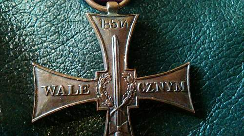 Results 1 to 4 of 4 Cross of Valour ( Krzyz Walecznych - PSZ  for review