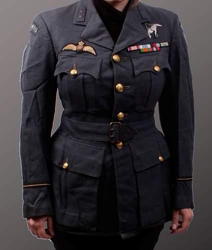 Polish pilot uniform