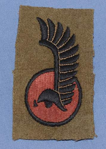 Polish 1st Armoured Division Patch Cotton - Genuine..??