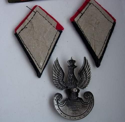 Identify Genuine Polish Second Corps Items