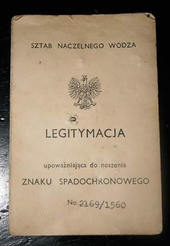 Polish para wing