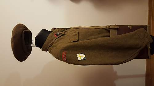 Is it a Polish battledress?