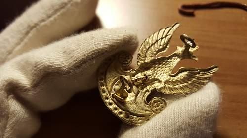 Polish Navy Petty Officer Uniform
