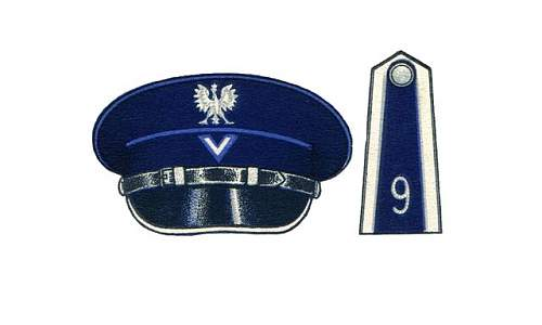 Click image for larger version.  Name:Przodownik-Service Cap and Epaulette.jpg Views:14 Size:33.7 KB ID:989965