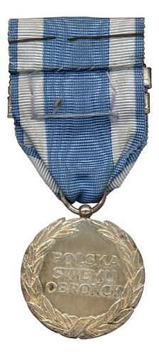Polish Air Force medal wanted...