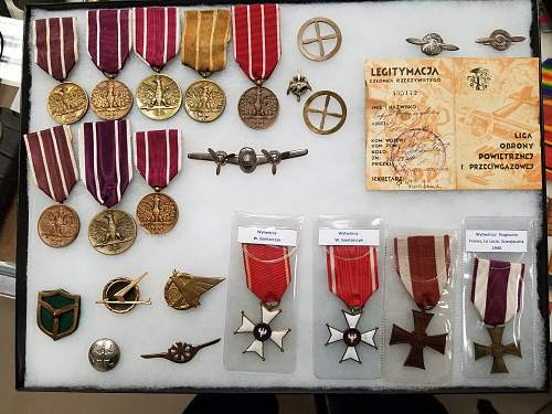 Looking for Polish Air Force memorabilia