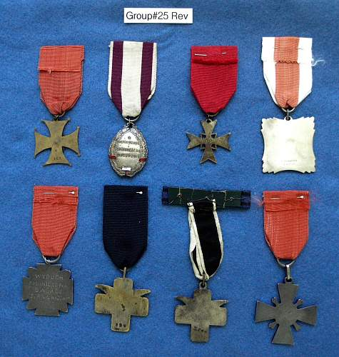 Polish militaria 4-sale - badges, medals, insignia ,etc
