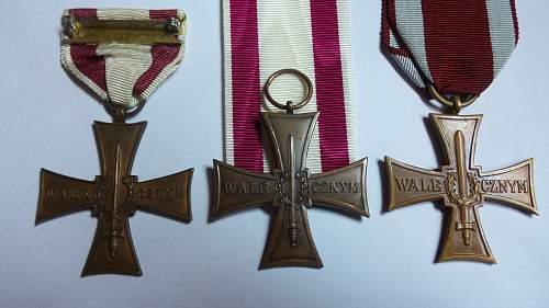 Cross of valour (Krzyż Walecznych)