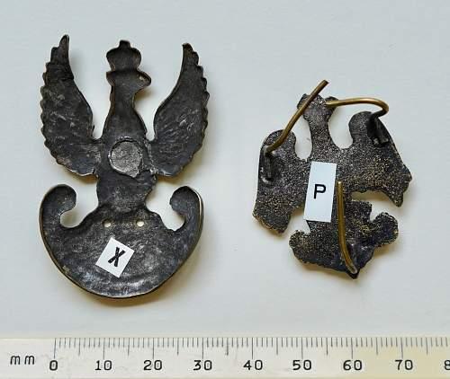 Wanted; Polish ww2 hat eagles (2)