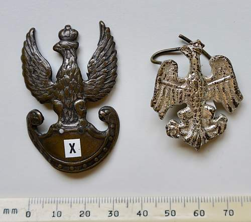 Wanted; Polish ww2 hat eagles (2)
