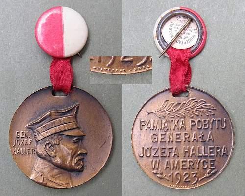 General Haller Medal 1923