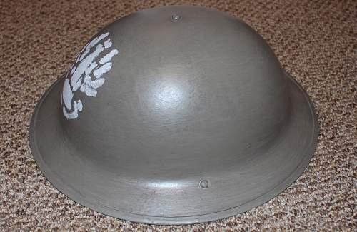 2nd Corps Vet Post-War Made Mk II PSZ Helmet