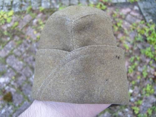 Wz.26 Polish Army Forage Field Cap or Sidecap / Wz.26 Polski Furazerka 6 PP LEG