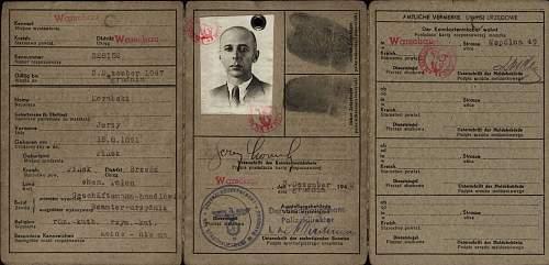 Click image for larger version.  Name:Jerzy Korabski ID Card.jpg Views:38 Size:97.8 KB ID:1003186