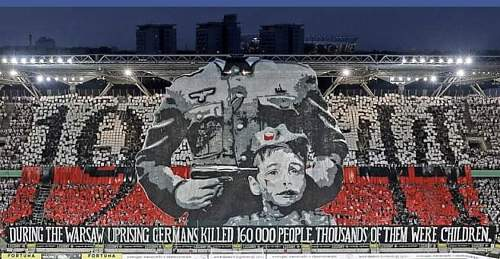 Today marks 76th year anniversary of the Warsaw Uprising.  Glory to the Heroes. Czesc I slawa Bohaterom.