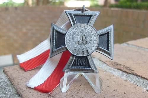 Warsaw uprising Iron cross