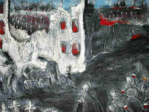 Paintings by Ted Murawski former AK insurgent