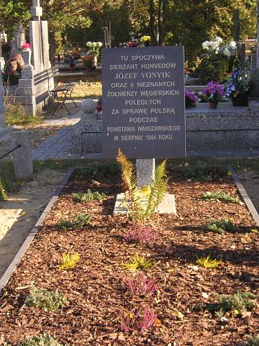 Click image for larger version.  Name:Warsaw Uprising grave of Hungarian captain and six soldiers sided with A.K. (wikipedia).jpg Views:132 Size:367.4 KB ID:552449