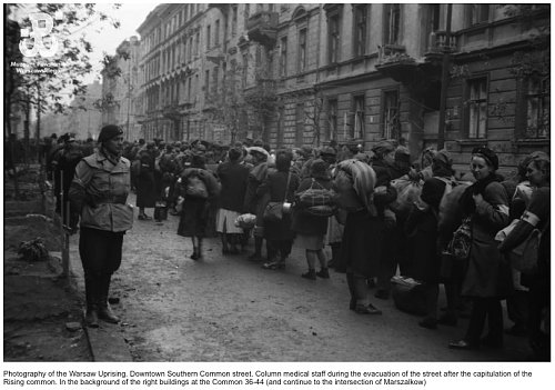 A rare piece of history from the Warsaw Rising 1944