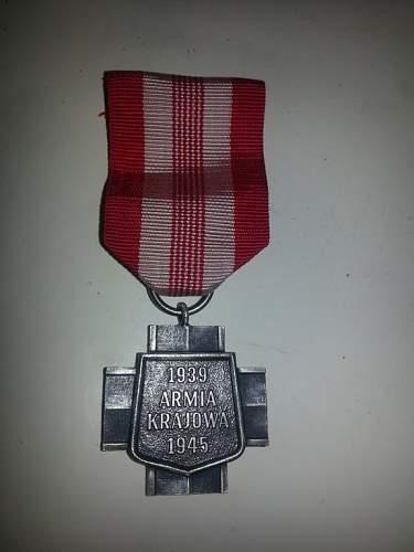 Armia krajowa cross