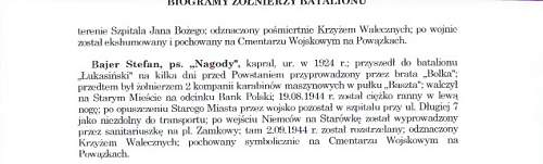 Warsaw Uprising 1944 - One hero's story.