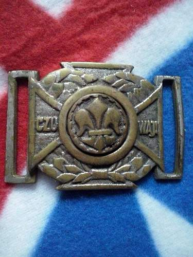 Polish scouting buckle