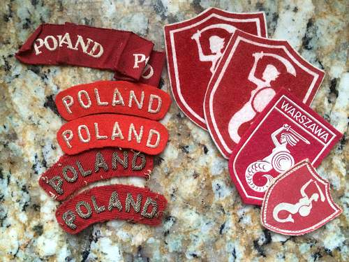 Family Medals and Patches: AK, Warsaw Uprising, or Scouting?