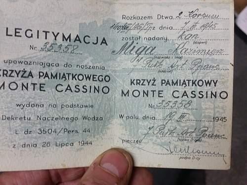 Monte Cassino Cross Group