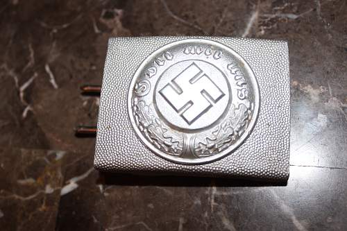 Polizei belt buckle real or fake.