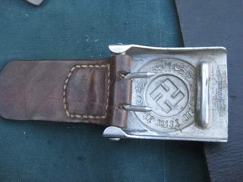Early Wiedmann police buckle