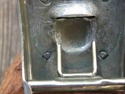 Polizei belt buckle