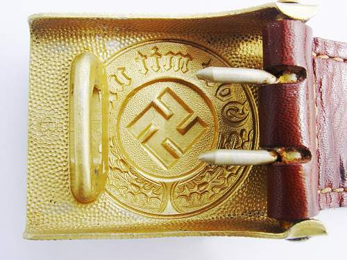 Early police buckle