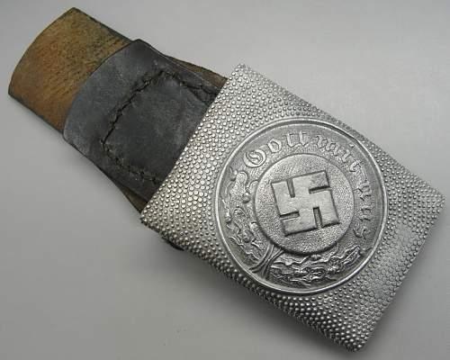 Late War-Police-Buckle