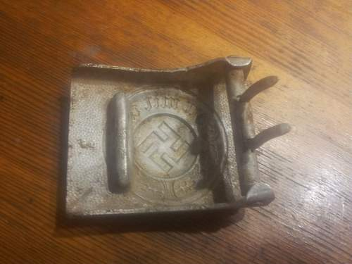 Police buckle unmarked