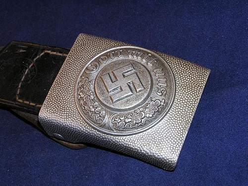 B and N police Buckle for opinions