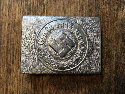 Polizei buckle RS&S
