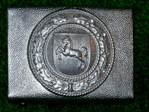real or fake Hannover police beltbuckle