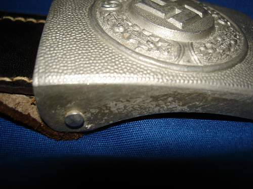 Injection-Molded Polizei Buckle (Maker?)