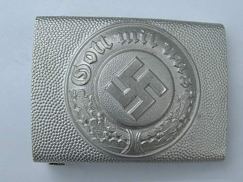 Polizei Buckle - real or fake ?