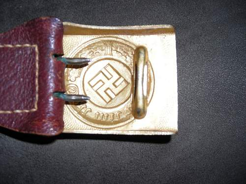 Water or Harbour Police buckle?