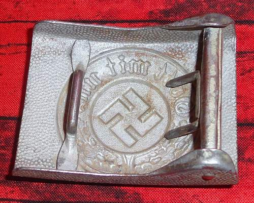 couple of police buckles for Ben