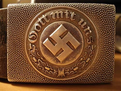 My Polizei Belt/Buckle addition