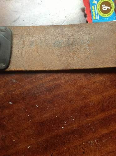 New police belt