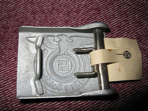 Buckle ID please