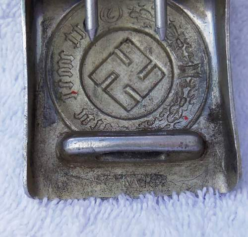 unmarked police buckle
