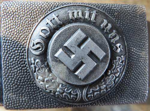 Police/Fire belt and buckle