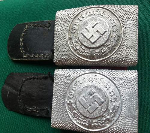 Police Buckle and  belt Original?