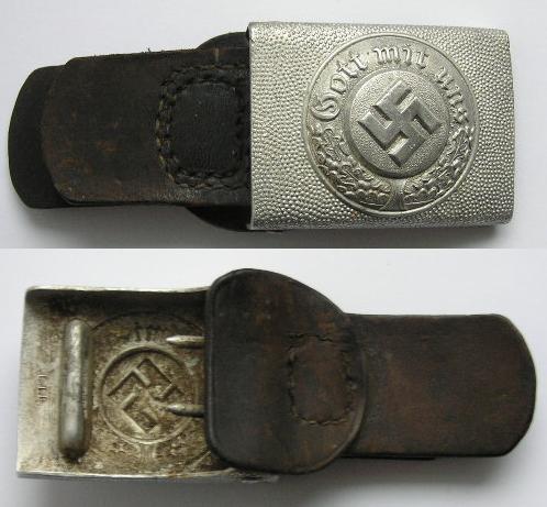 Buckle Polizei - marked C.T.D.
